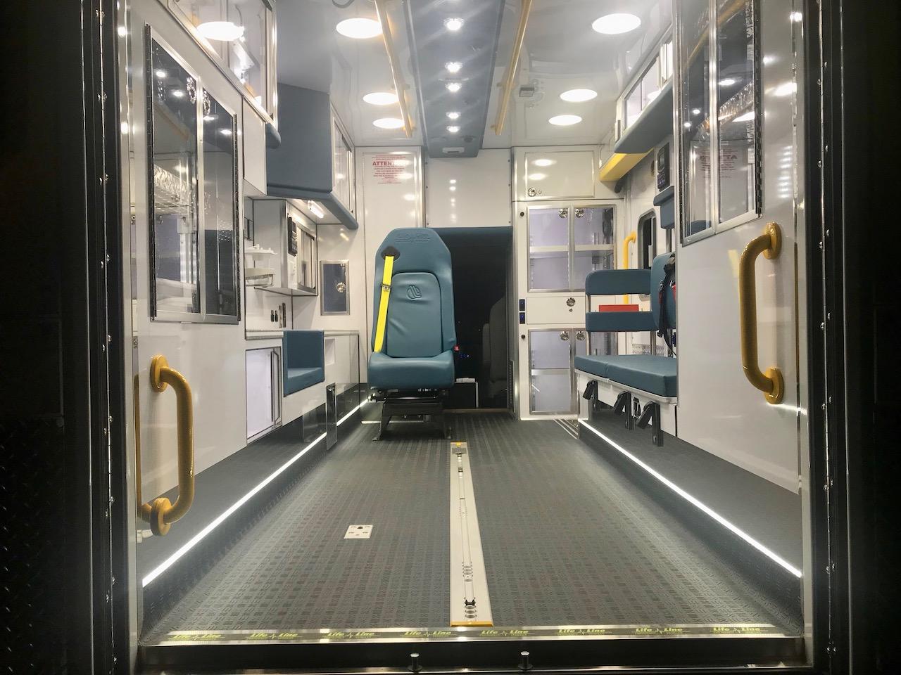 Life Line Ambulance - 4379 Stock - 4