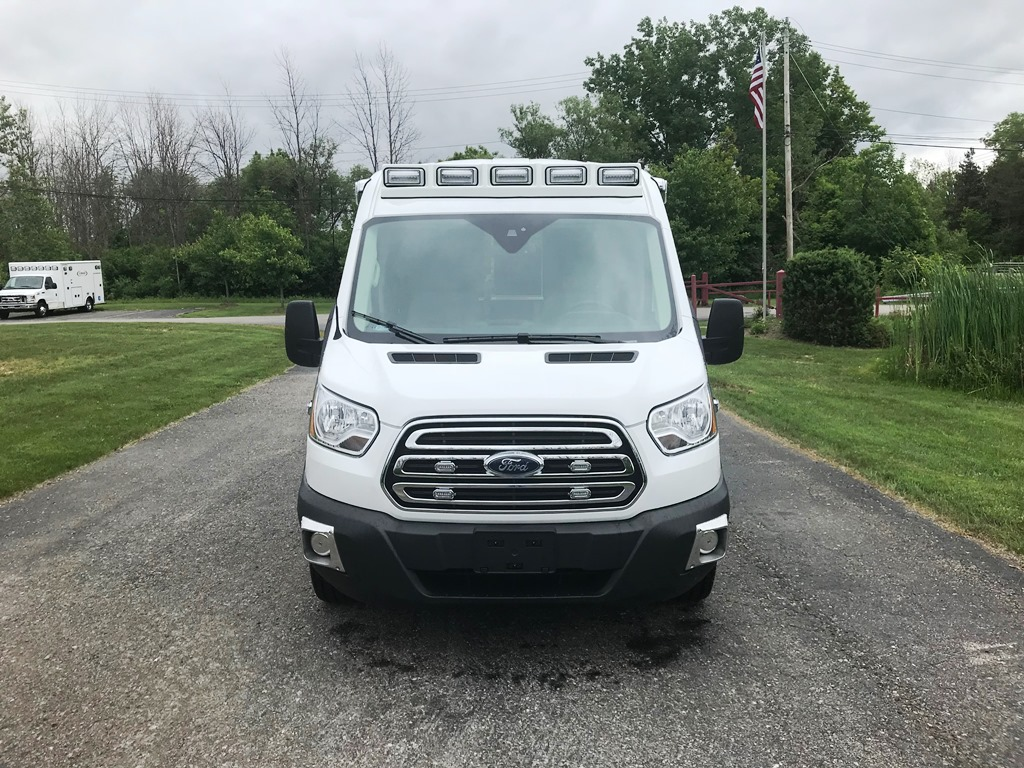 2018 Medix SRH-148 Aluminum Transit Gas Type 2 Ambulance for