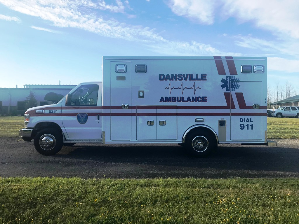 Dansville Ambulance 2018 - 1