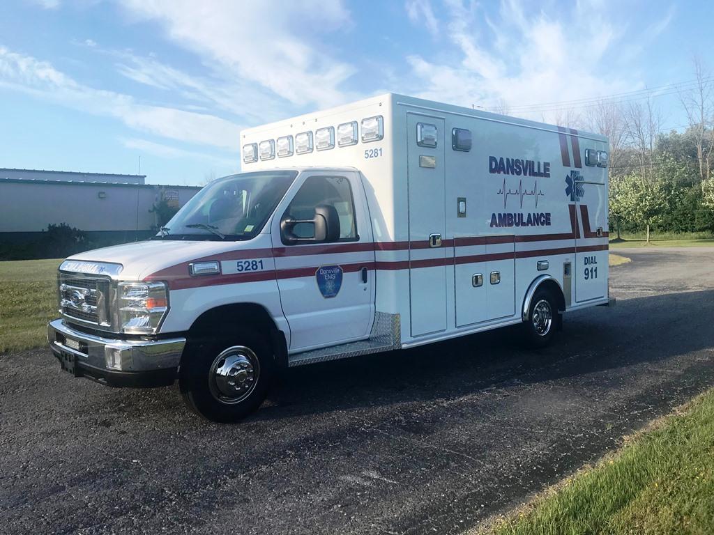 Dansville Ambulance 2018 - 2