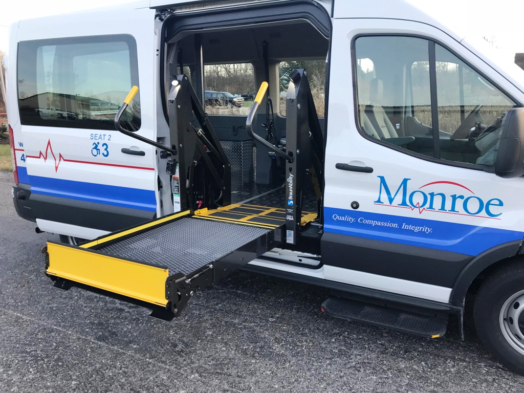 Monroe Ambulance - Paratransit stretcher van - 12