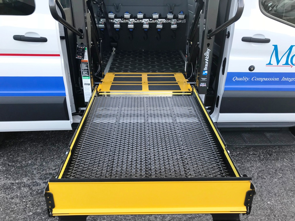 Monroe Ambulance - Paratransit stretcher van - 13