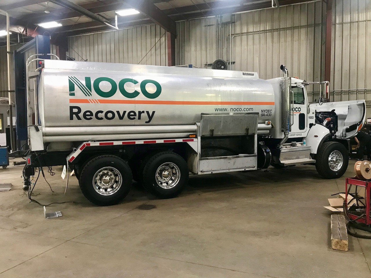 Tanker Rechassis - NOCO - 4