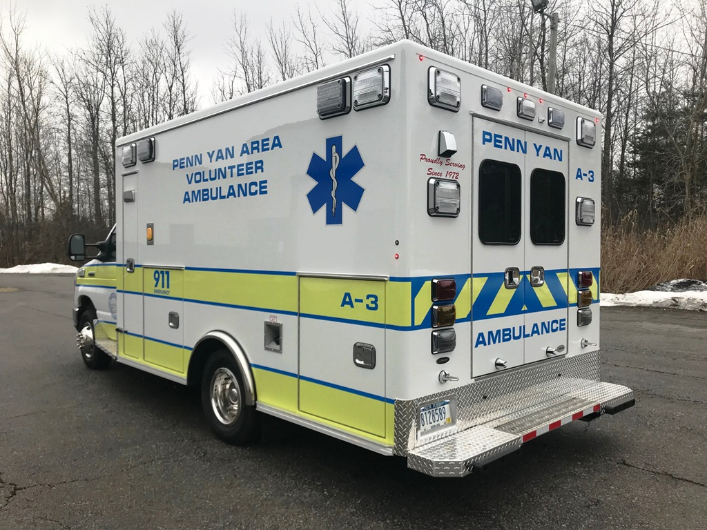 Medix Ambulance to Penn Yan - 8
