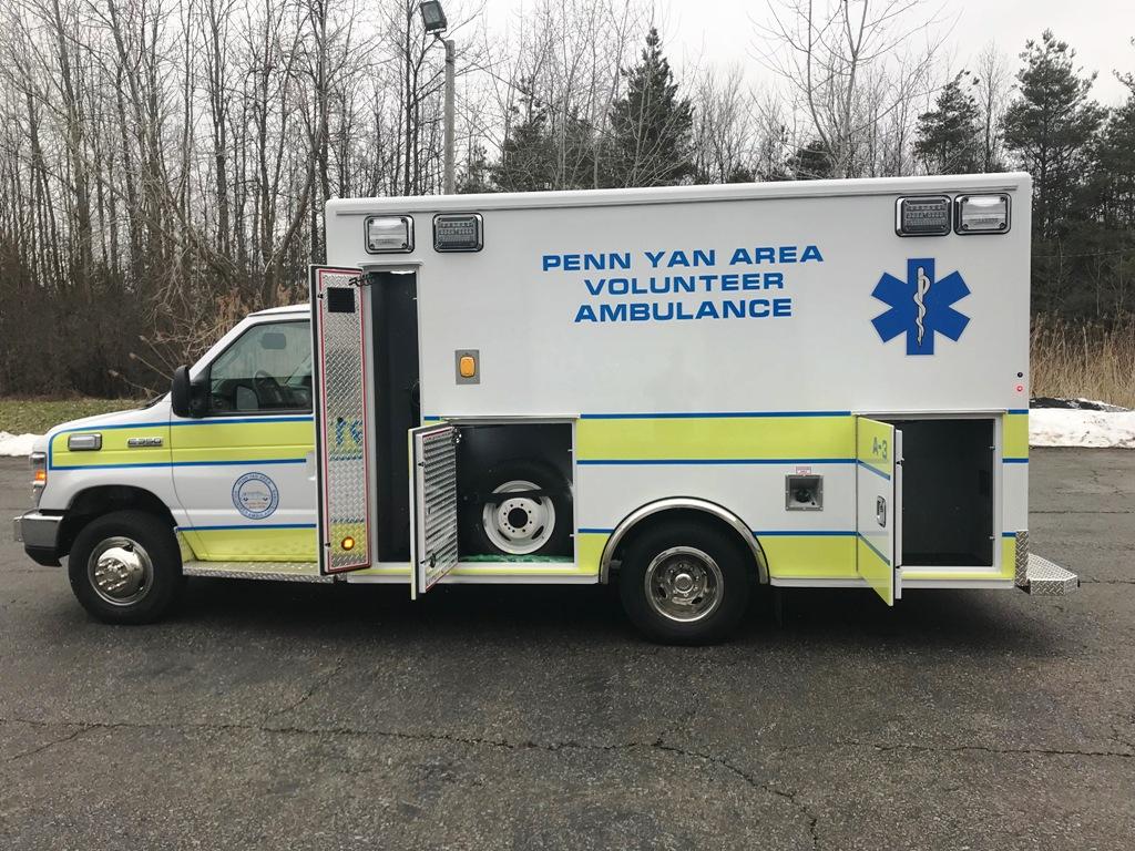 Medix Ambulance to Penn Yan - 9