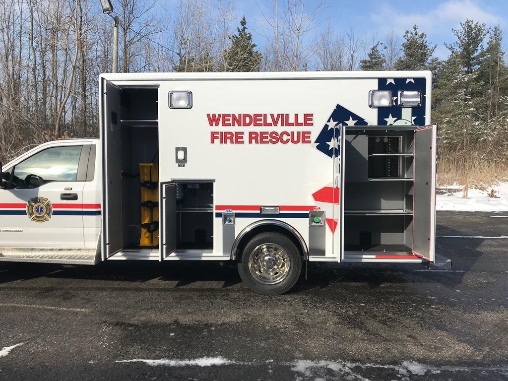 Medix Ambulance to Wendelville - 2