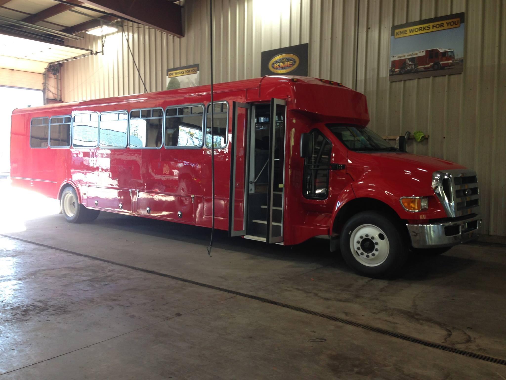 Fireman's Activity Bus B