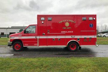 Saratoga Springs Life Line Ambulance 14